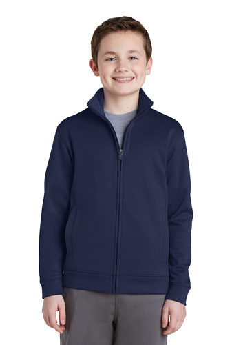 Sport-Wick Fleece Full-Zip Jacket – Youth (YST241)