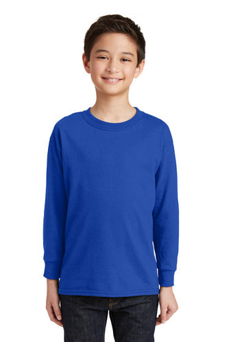 Gildan Heavy Cotton Youth L/S T-Shirt (G5400B)