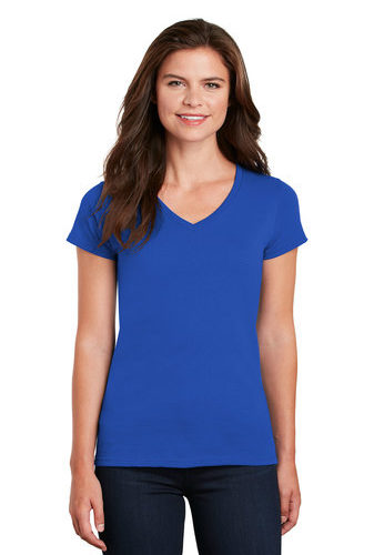 Gildan Heavy Cotton Ladies' V-Neck T-Shirt (G5V00L)