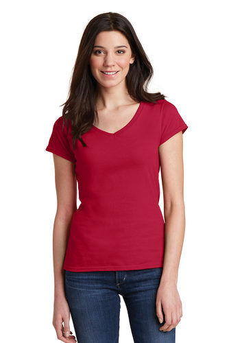 Gildan Softstyle Women's V-Neck T-Shirt (64V00L)